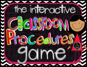 The Classroom Procedures Game-Make Teaching Classroom Procedures Fun!