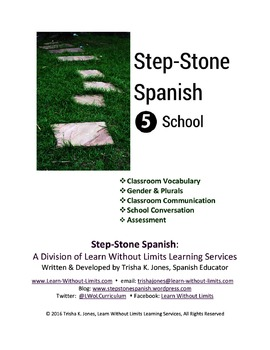 The Classroom & School Spanish Unit Lesson Plans