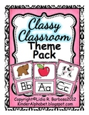 The Classy Classroom Theme Pack