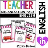 The Classy Teacher Organization Pack
