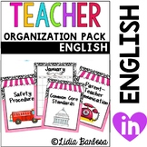 The Classy Teacher Organization Pack