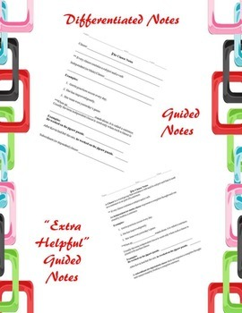 The Clause PowerPoint, Differentiated Notes, and Activities (Common Core)
