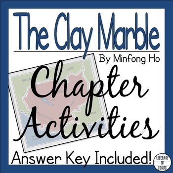 The Clay Marble Reading Comprehension Packet
