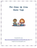 The Clean Up Crew Name TagsPreview