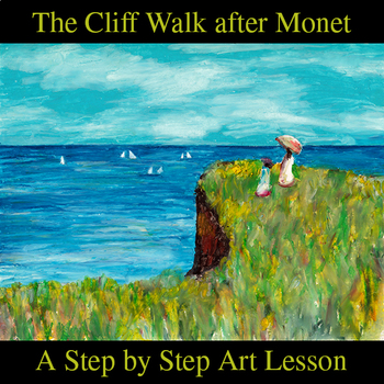 The Cliff Walk after Monet