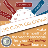 The Clock Calendar Makes Months of the Year Memorable