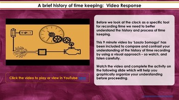 Innovations that changed the world: THE CLOCK Digital Interactive Unit / Project