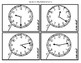 The Clock:  Practice Cards for Hour, Half Hour, 5-Minute a