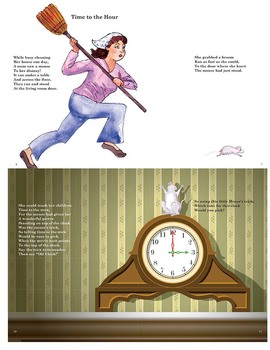 CCSS.MD:The Clock and the Mouse:  A Teaching Rhyme About Time EBook
