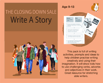 The Closing Down Sale: Write A Story (9-13 years)