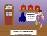 The Clothes Shop Spanish PowerPoint