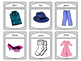 The Clothing ESL Spoons Card Game -The Clothing Vocabulary