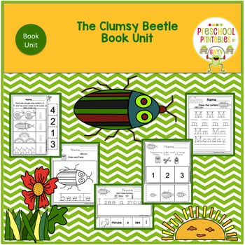 The Clumsy Beetle by Eric Carle Book Unit