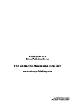 The Cock, the Mouse, and the Little Red Hen - Short Story
