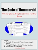 The Code of Hammurabi: You Be the Judge! Activity Bundle for Mesopotamia