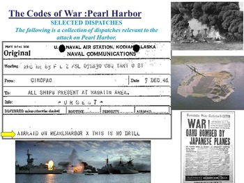 The Codes of War-Pearl Harbor