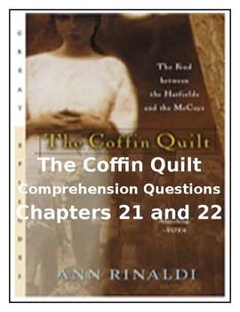 The Coffin Quilt by Ann Rinaldi CCSS Comprehension Questions for Chapters 21-22