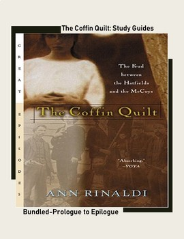 The Coffin Quilt by Ann Rinaldi Comprehension Questions for whole novel BUNDLED
