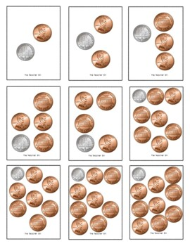 Kindergarten -1st- 2nd Grade- Special Education- Coin Mix Game a Pirate Theme