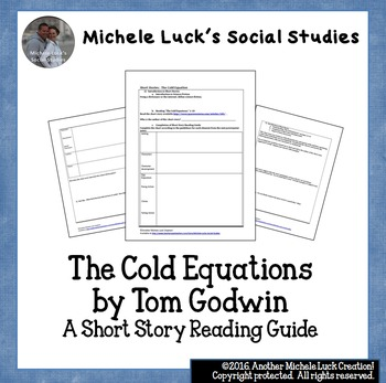 The Cold Equations by Tom Godwin Short Story Student Reading Guide