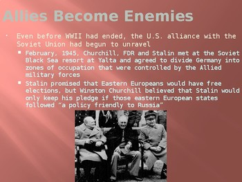 WORLD HISTORY: UNIT 6 - The Cold War