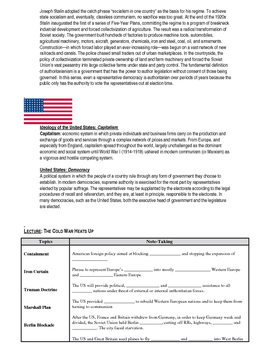 Day 118_The Cold War Begins - Lesson Handout