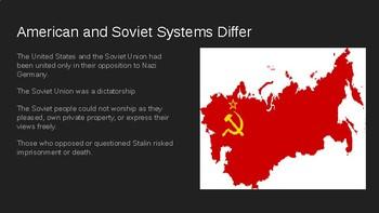 The Cold War Begins