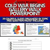 The Cold War Begins Gallery Walk PowerPoint