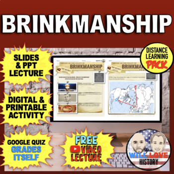 The Cold War: Brinkmanship & the Arms Race Bundle