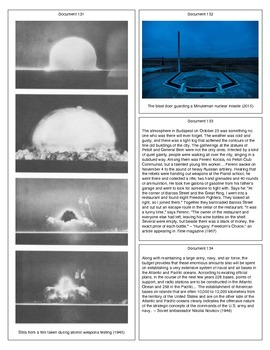 The Cold War (Document Packet) (2 of 2)