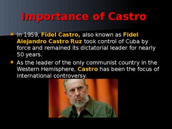 Cold War Era - Castro's Rise to Power
