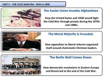 The Cold War Era - Complete Unit Bundle
