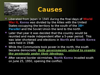 Global Policy & International Conflicts - The Korean War