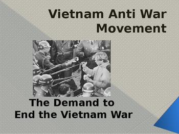 Cold War Era - Vietnam & The Anti War Movement