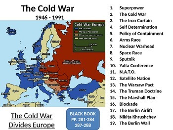 The Cold War: Europe Divided