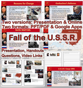 The Cold War: Fall of the Soviet Union
