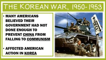 The Cold War: *Growing* Vietnam and Korea Unit