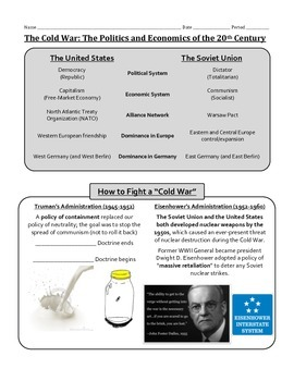 The Cold War: Guided Notes
