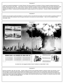 The Cold War Home Front (Document Packet) (1 of 2)