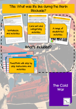 The Cold War: L3 'What was life really like during the Berlin blockade?