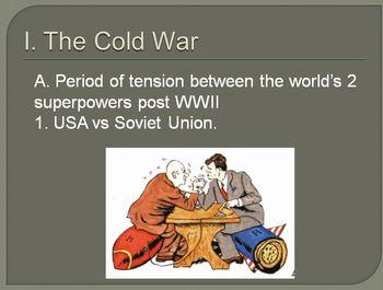 The Cold War Lesson Plan.  United States versus Soviet Uni