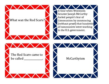 The Cold War Matching Game
