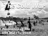 The Cold War Notes USA vs USSR World Dominance Digital Interactive Notes