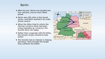 The Cold War--Part I  1945-1961