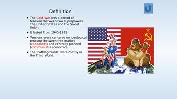 The Cold War--Part I  1945-1961