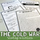 The Cold War Reading Activities (SS5H5a, SS5H5b, SS5H5c, SS5H5d)