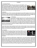The Cold War - Reading Comprehension Worksheet / Text