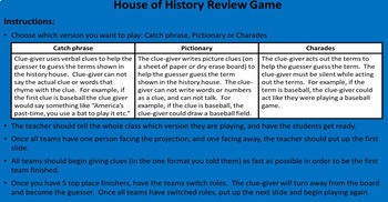 The Cold War Review Game