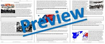 The Cold War Starts: Reading Guide Worksheet & Questions