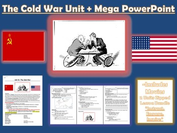 The Cold War Story + Independence Movement Mega Unit/PPT (NEW)